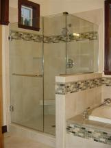 Enclosed Glass Shower Installation