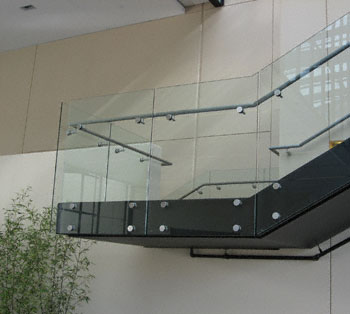 Floating Glass Stair Railings Ottawa