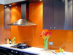 Glass Kitchen Backsplash Installation